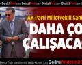 AK Partili Şahin Tin'den Kuruluş Yıldönümü Mesajı