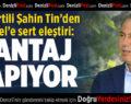 AK Partili Şahin Tin'den Merkel'e Sert Eleştiri