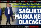 AK Parti'li Şahin Tin, İl Sağlık Müdürü Öztürk'ü Makamında Ziyaret Etti
