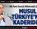 AK Parti'li Şahin Tin Musul Operasyonunu Değerlendirdi