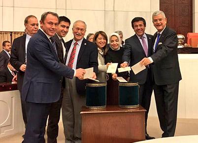 AK Partili Tin: Yeni Anayasa Milli İradeyi Egemen Kılacak