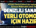 AK Partili Şahin Tin'den Yerli Otomobil Açıklaması