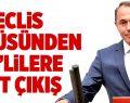 Meclis Kürsüsünden HDP'lilere Sert Çıkış