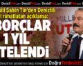 Milletvekili Şahin Tin'den Üreticiyi Rahatlatan Açıklama