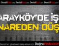 Sarayköy'de İşçi Minareden Düştü