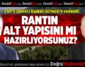 DEMİRCİ GÜRLESİN'E SESLENDİ