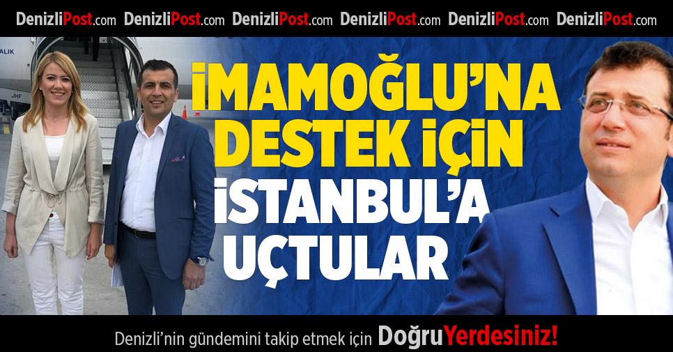 İmamoğlu'na Destek İçin İstanbul'a Uçtular