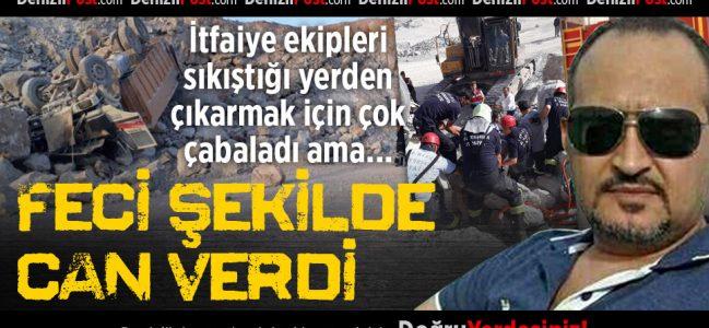 Beton Şantiyesinde Kamyon Kazası: 1 Ölü