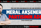 Meral Akşener'in Yeni Partisinin Adı…