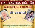 Halikarnas Kültür 2 Şairi Ağırlayacak