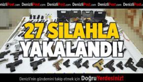 27 Silah ile Yakalandı, Tutuklandı