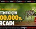Sinekle mücadeleye 2 milyon lira