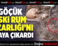 Yağmur Nedeniyle Oluşan Göçük Eski Rum Mezarlığı'nı Ortaya Çıkardı
