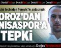 Denizlispor'dan Manisaspor'a tepki