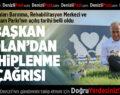 Başkan Osman Zolan açılış müjdesini verdi