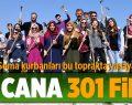 Soma'da Ölen Madenciler Anısına 301 Fidan