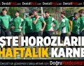 Denizlispor'un 6 haftalık karnesi