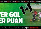 Denizlispor-Balıkesirspor :1-1