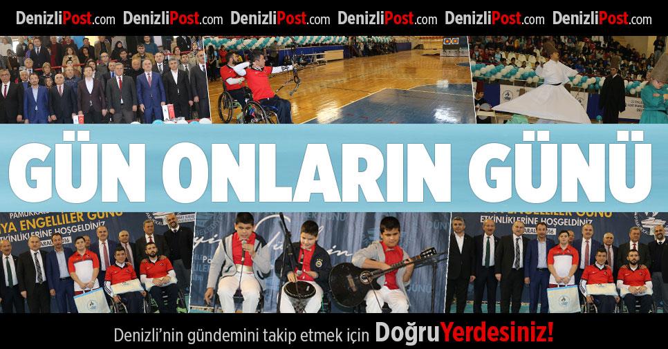 Pamukkale Belediyesi'nden 3 Aralık Etkinliği