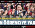 Pamukkale Belediyesi'nden 2 bin öğrenciye öğrenim yardımı