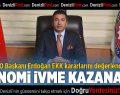 Erdoğan: EKK kararları ekonomimize ivme kazandıracaktır