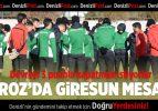 Denizlispor'da Giresunspor hazırlığı sürüyor