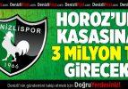 Denizlispor'a 3 milyon TL kaynak