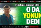 Denizlispor'da anonsçu da istifa etti