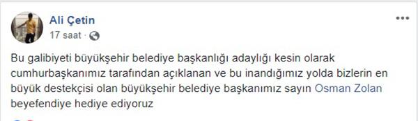 sosyal 270 - Galibiyet Başkan Osman Zolan'a