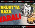 Karakurt'ta kaza: 1 yaralı