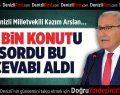 CHP'li Kazım Arslan 25 Bin Konutu Sordu