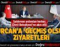 Gürcan'a 'Geçmiş Olsun' Ziyaretleri