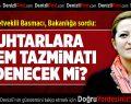 CHP Milletvekili Basmacı'dan BakanlığaSoru
