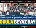 Denizli'de 140 Okula Beyaz Bayrak