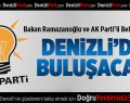 AK Partili Belediyeler Denizli'de Toplanacak