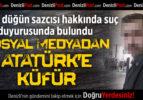 Atatürk'e küfür eden düğün sazcısına CHP'den tepki