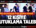 Denizli'de PKK Zanlıları Adliyede