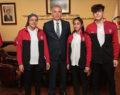Büyükşehir sporcuları Balkan Şampiyonası'na uğurlandı