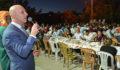 Sarayköy Belediyesi'nden Alevi-Bektaşi Vatandaşlar İçin İftar Yemeği
