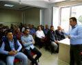 Büyükşehir'den minibüs şoförlerine trafik eğitimi