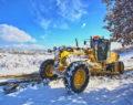 Büyükşehir'den karla kesintisiz mücadele