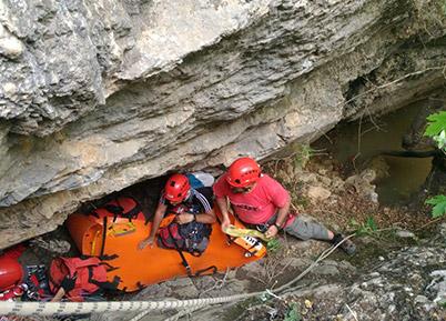 AKUT'tan kanyonda kurtarma tatbikatı