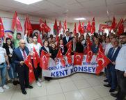 Kent Konseyi'nden Barış Pınarı Harekatına Tam Destek