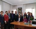 İl Başkanı Mahir Akbaba ve Yönetim Kurulu Üyeleri, Denizli Emekli Öğretmenler Derneğini ziyaret etti