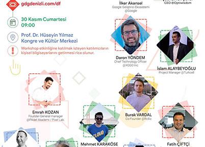 Paü'de Yazılım ve Teknoloji Zirvesi, GDG DevFest Denizli'19 İçin Geri Sayım Başladı