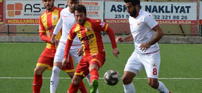 Kızılcabölükspor-Çatalcaspor: 0-0