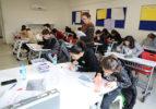 Denizli Çözüm Kolejinde sınav heyecanı başladı