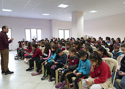 Büyükşehir'den teknoloji bağımlılığı semineri