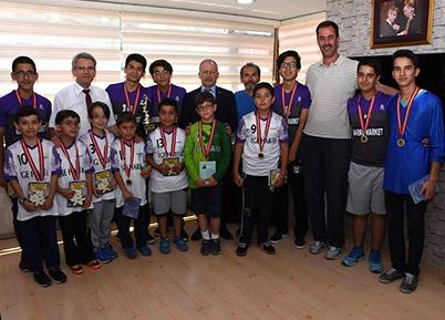 Sporculardan Başkan Şevkan'a Ziyaret