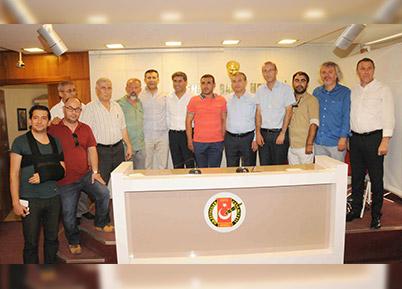 Denizlispor'dan Gazetecilere Ziyaret